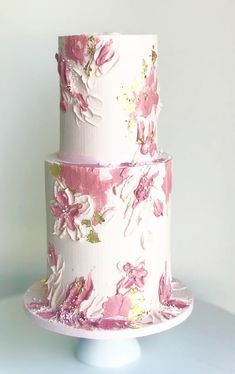 Amazing Wedding cakes and examples, cake info reference 9441755470 - Small to Big steps to create a truly incredible cake.Visit the link today. Elegant Wedding Cakes, Beautiful Wedding Cakes, Beautiful Cakes, Gateau Aux Oreos, Beautiful Cake Designs, Hand Painted Cakes, Cupcakes, Dessert Decoration, Cake Icing