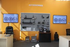 Automotive digital signage is not just for the showroom. Here is an example from a dealership's Parts & Accessories Department that uses ABN's digital content library to market other profit centers of the dealership.  Visit our website to see more customer photos and examples: http://www.abnetwork.com/customer-photos