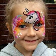 Afbeeldingsresultaat voor unicorn face painting image