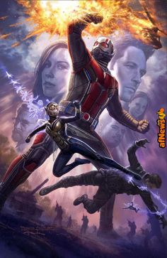 First ANT-MAN & THE WASP Poster - http://www.afnews.info/wordpress/2017/07/24/first-ant-man-the-wasp-poster/