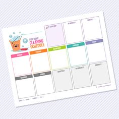 FRIENDS! Here's another one that I created a while back and forgot to post. Get ready to get your house TIDY! We all have those new year resolutions to CLEAN, purge and organize, right?! I laminate...