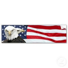 american flag car magnets