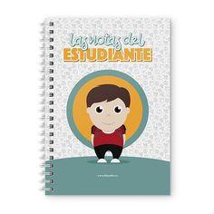 Cuaderno XL - Las notas del estudiante, encuentra este producto en nuestra tienda online y personalízalo con un nombre. Notebook, Scrapbook, Cover, Notebooks, Report Cards, Day Planners, Studio, Student, Scrapbooking
