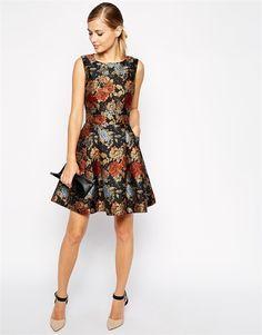 20 vestidos cortos para ir a una boda de otoño- invierno. Playing Dress  UpFloral FashionFashion DressesKaren MillenNice ...