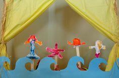 make a homemade puppet theatre