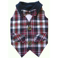Franklin Dog Vest by Ruff Ruff Couture
