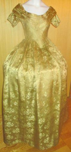 Original 1840s ball gown