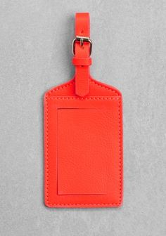 Clare Vivier for & Other Stories luggage tag
