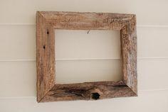Rustic 8x10 Driftwood frame by oldlikenew on Etsy, $45.00