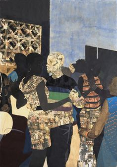 View I Refuse to be Invisible by Njideka Akunyili Crosby on artnet. Browse upcoming and past auction lots by Njideka Akunyili Crosby. Art And Illustration, Illustrations, Collages, Collage Art, Contemporary African Art, Contemporary Paintings, African American Art, American Artists, Caricatures
