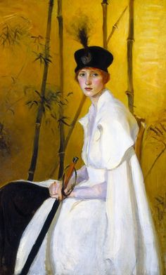 Ruth P. Bobbs - Woman in White c. 1904-1911