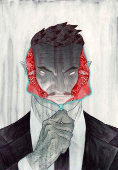 cool + weird illustration