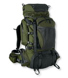 White Mountain Pack. Looks roomy enough, It's also got loads of pockets to help keep your kit organized.