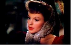 Have yourself a merry little Christmas. Judy Garland, a still. Takes the breath away.