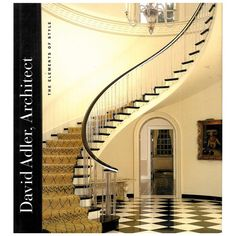 """David Adler, Architect: The Elements of Style"" edited by Martha Thorne. Staircase Railings, Curved Staircase, Grand Staircase, Staircase Design, Stairways, Luxury Staircase, Rustic Staircase, Wrought Iron Staircase, Round Stairs"