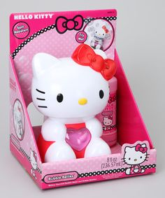 Take a look at this Hello Kitty Bubble Bellie Set by Hello Kitty on #zulily today!