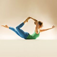Ardh- Dhanurasana ( Half bow pose ) . #yoga #pose #asana