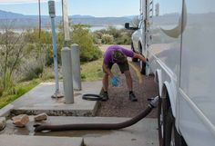 RV dump station procedures tips and tricks