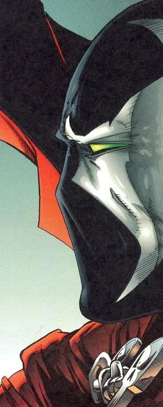 Spawn's mask is freaking fantastic.