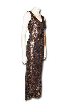 a48cc4d59d70 KARTO Lang sort gallakjole - Køb lange kjoler online hos KARTO   Mode til  kvinder Kobe