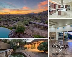This stunningly remodeled home sits on over 4 acres of pristine high Sonoran Desert with horse privileges.