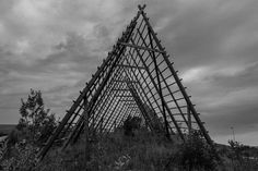 Fiskehjell Wood Architecture, Landscape Photos, Norway, Louvre, Fish, Sea, Explore, Building, Travel