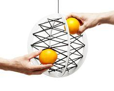 Rangement / corbeille à fruits suspendu