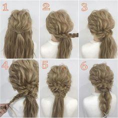 Pin by Craig Nadine on Braids Hairstyles in 2019 Dance Hairstyles, Party Hairstyles, Braided Hairstyles, Wedding Hairstyles, Hair Due, Hair Arrange, Pinterest Hair, Asian Hair, Hair Designs