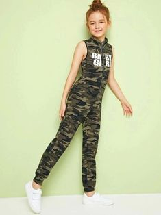 Girly Girl Outfits, Teenage Girl Outfits, Cute Comfy Outfits, Kids Outfits Girls, Cute Outfits For Kids, Pretty Outfits, Camo Outfits, Preteen Girls Fashion, Girls Fashion Clothes