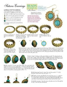 earrings ~ Seed Bead Tutorials