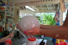 Make alien bubbles with this cool science experiment.