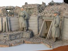 WWI figures and dioramas in several different scales. Another Daily Dose for 04june2014 from the Michigan Toy Soldier & Figure Co. www.michtoy.com