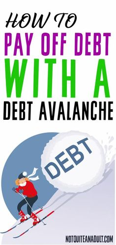 In this article I want to take the opportunity to help you get familiar with the debt avalanche method that can help you pay down your debt, while saving you a lot of money in the long run.Read on to find out what the debt avalanche method is and how to implement it into your debt reduction and elimination. Loan Company, Debt Snowball, Budget Binder, Get Out Of Debt, Debt Payoff, Student Loans, Make More Money, How To Stay Motivated, Money Saving Tips