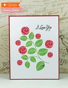 Created by Jeanne Jachna http://akeptlife.blogspot.com for Waltzingmouse Stamps featuring Simple Sprig Stamp Set