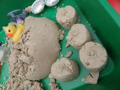 Irresistible Ideas for play based learning » Blog Archive » moon sand recipe