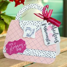 Made by Clare Curd using Craftwork cards fabulous fashionista Collection
