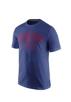 Texas Rangers 2015 Division Champions Short Sleeve T-Shirt http://www.rallyhouse.com/Texas-Rangers-2015-Division-Champions-Short-Sleeve-T-Shirt-Royal?utm_source=pinterest&utm_medium=social&utm_campaign=Pinterest-TexasRangers $28