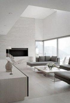 Wonderful Modern Minimalist Living Room #livingroom #wohnzimmer