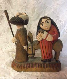 Christmas Nativity Set, Nativity Sets, Christmas Ornaments, Polish Folk Art, Christian Religions, O Holy Night, Jesus Art, Holy Family, Sacred Art