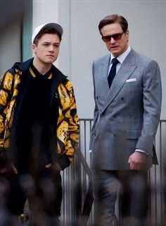 #TaronEgerton #ColinFirth