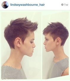 The most popular short pixie hairstyles for . - nice short pixie hairstyle very short pixie hair short pixie cut 2019 short natural pix - Short Faux Hawk, Pixie Faux Hawk, Girl Faux Hawk, Pixie Mohawk, Short Mohawk, Pixie Haircut Thick Hair, Faux Hawk Women, Haircut Short, Haircut Style