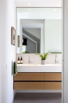 30 Minimal Bathroom Design Inspiration - The Architects Diary Bathroom Toilets, Bathroom Renos, Laundry In Bathroom, Bathroom Layout, Bathroom Renovations, Bathroom Ideas, Remodel Bathroom, Bathroom Organization, Vanity Bathroom