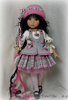 Perky in Pink. . .and GRAY! | Flickr - Photo Sharing!