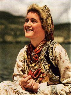 Items similar to Greek Woman Kalavryta Kastoria Delphi Ruins Photo Print Greek Vintage on Etsy