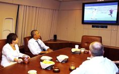 JUST PYE: Photo: President Obama Also Watched USA Vs Germany...