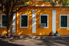 Street, Pondicherry - one of my favorite places