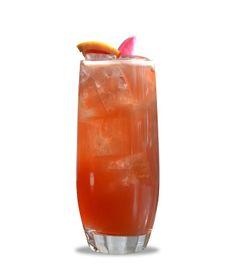 """Forårscocktailen har friske smagsnoter og likøren, Cherry Heering, giver cocktailen den fineste røde farve og en delikat frugtig smag – værsgo' og nyd. """"Kirsebær swizzle"""" 1 cl. Cherry Heering 1 cl. Marascino likør 1 cl. sukkerlage 2 cl. frisk limejuice 4 cl. Jamaicansk rom 1 dash Bitter truth Spiced Chocolate bitters"""
