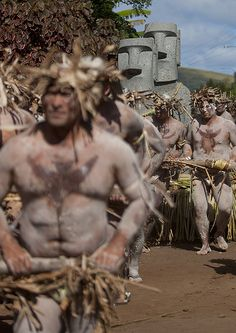Carnival Parade During Tapati Festival, Easter Island, Chile | by Eric Lafforgue