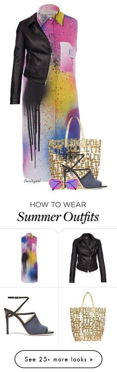 "Collection Of Summer Styles    ""TFP Outfit"" by burlsgurl on Polyvore featuring Christopher Kane, Barbour International, Glamourpuss NYC, Jimmy Choo, Fendi and fashionset    - #Outfits  https://fashioninspire.net/fashion/outfits/summer-outfits-tfp-outfit-by-burlsgurl-on-polyvore-featuring-christopher-kane-barbour-intern/"