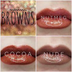 Dark browns